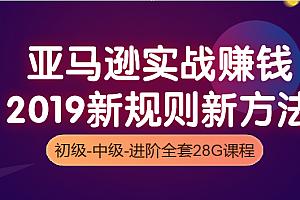 2019新规则亚马逊运营初级+中级+高阶教程(共28G)