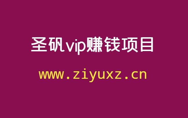 圣矾vip项目(圣矾实操81个副业赚钱)